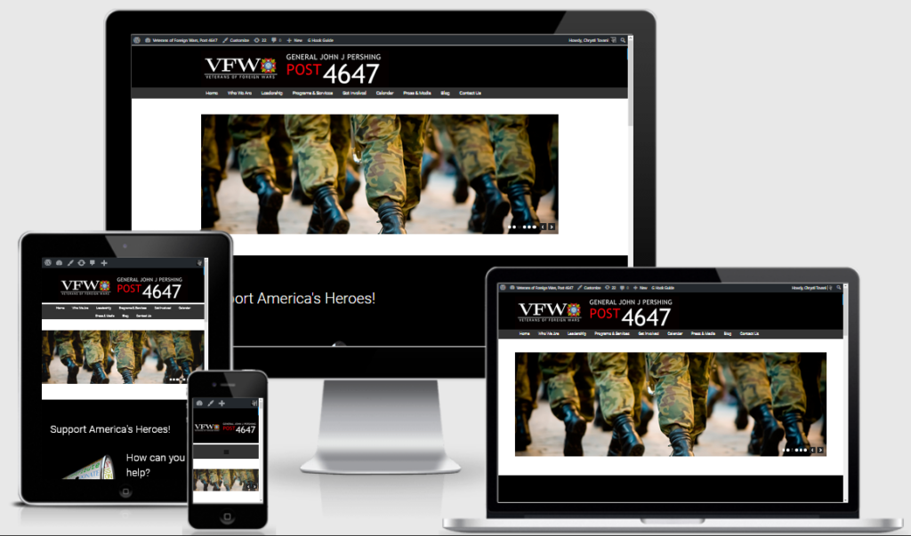 vfw websites examples by chrysti tovani