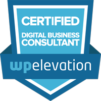 WordPress digital business consultant, Chrysti Tovani, certificate from wp elevation